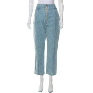 NWT Isabel Marant high Rise Cropped Jeans 10 42